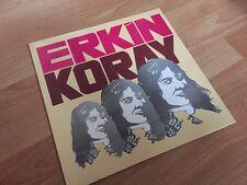 Rare ! Turkish PSYCH TRIP E-SAZ Rock LP - ERKIN KORAY - Cem Karaca Baris Manco