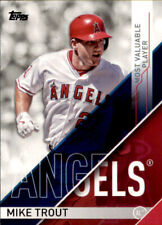 2017 Topps Award Winners MVP-1 Mike Trout - Anaheim Angels -Most Valuable Player