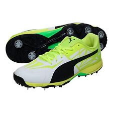 Puma - EvoSpeed 1.5 Cricket Shoes - White/Yellow *RRP £100*