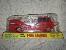 Vintage Toy Fire Engine in Original Package