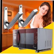 2pcs Microwave Wall Mounting Stand Holder Brackets Extendable Arms Kitchen BUY