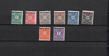 FRENCH COLONIES AFRIQUE OCCIDENTALE-HAUTE VOLTA MH Set Overprinted Lot (EQUA 22)