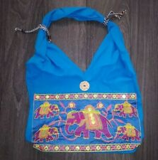 Hippie Boho Elephant Design Indian Embroidery Shoulder Bags
