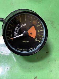1972 Kawasaki S1 250 S2 350 Tachometer Meter Case Gauge 25016-011 Triplestuff