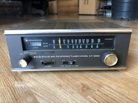 Vintage Kenwood KT-1000 Solid State AM FM Stereo Tuner
