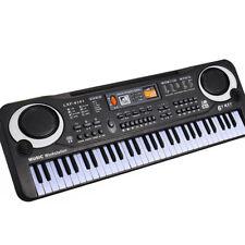 LC_ 61 Key Digital Music Electronic Keyboard Kids Toy Electric Piano w/MIC Sur