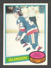 1980-81 MIKE BOSSY #25 NM OPC ** Key NYI HALL OF FAME Superstar NHL Hockey Card