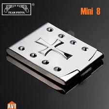 Slim Cigarette case for 8 filter. pure copper Plating. unique brass mini size.