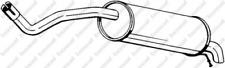 Endschalldämpfer für Abgasanlage BOSAL 227-051