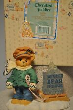 Cherished Teddies - James - 269786 - Going My Way For Holidays - Pulling Sled