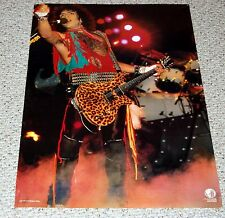 KISS Lick It Up Tour Paul Stanley In Concert Holland Poster BC Rich Eagle Guitar