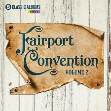 FAIRPORT CONVENTION 5 CLASSIC ALBUMS VOLUME 2 5CD ALBUM SET (January 13th 2017)