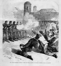 EXECUTION BY SHOOTING OF EIGHT YOUNG MEDICAL STUDENTS BY THE SPANISH VOLUNTEERS