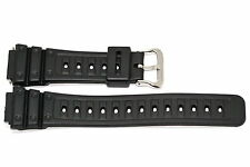 18mm Black Rubber Sport Watch Band Strap Fits Casio Gshock DW5600C, DW5700C
