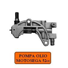 Pompa olio/Ricambio per motosega 52cc