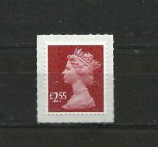 Great Britain Machin  £2.55 OFNP SA 2B De La Rue Code M17L DG 2250.1.1  MNH