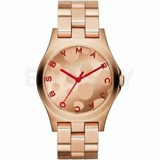MARC JACOBS HENRY ROSE GOLD WATCH