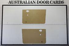 Mazda 1000 Ute Door Cards. Blank Trim Panels