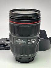 Canon EF 24-105mm f/4L IS II USM Lens Excellent Cond.