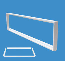 Surface Mount Mounting Frame 600x1200 mm LED Panel Ceiling Light Aluminum White