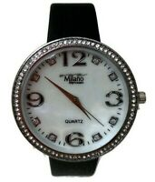 Women's Casual Watch Milano MC45533-35 Faux Leather Band Water Resistant 1 ATM