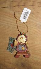 Disney Cogsworth Colgante Ornamento De La Bella Y La Bestia Lumiere Belle Navidad