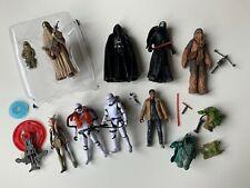 STAR WARS Action Figure Lot Darth Vader Stormtroopers Chewbacca Ahsoka Tono Finn