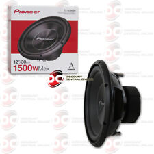 PIONEER TS-A300D4 A SERIES 12 INCH DUAL 4 OHM CAR AUDIO SUBWOOFER 1500W MAX