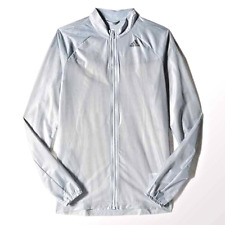 Adidas Women's AdiZero Ghost Jacket Reflective/Transparent Grey Size XS