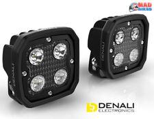 DENALI 2.0 D4 TriOptic LED Motorcycle Spot Light Kit with DataDim Technology