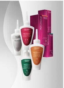 3 x Shiseido Hair Perm Kits- Resistant Hair - Normal Hair - Sensitized Hair