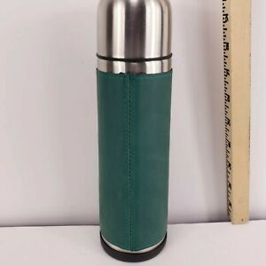 """DANA Thermos Stainless Steel 16oz Pour Spout Cup Coffee Craft 10"""" tall 3"""" Base"""