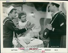 1958 Anna Lucasta Original Press Photo Eartha Kitt Sammy Davis, Jr.