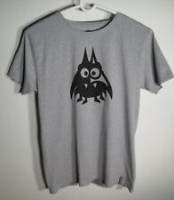 Pure Waste Size L Grey Recycled Textile Monster Bug Graphic T Shirt