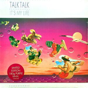 Talk Talk LP It's My Life - Tirage limité, Vinyle violet transparent - US & EU