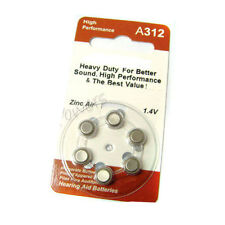 24 A312 PR41 7002ZD 1.4V Zinc Air Hearing Aid Battery