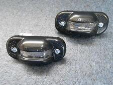 Hella Luz Placa Matrícula VW Golf 1 Cabrio con Bombillas y Juego de Tornillos