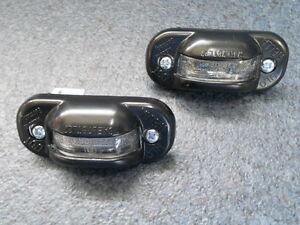 HELLA Kennzeichenbeleuchtung für VW GOLF 1 Cabrio +Birnen und Schrauben SATZ NEU