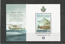 Gibilterra 2008 90TH ANNIV Royal Air Force minisheet SG, MS1267 U/MM N/H LOTTO 3843A