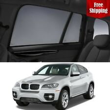 BMW X6 2008-2014 E71  Rear Side Car Window Sun Blind Sun Shade For baby Mesh