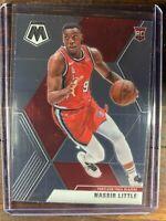 Nassir Little Rookie Basketball Card #247 Panini Mosaic Trail Blazers RC NBA