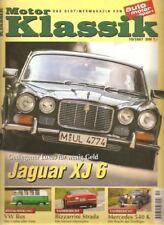 Motor Klassik 10/97 * Jaguar XJ 6 * VW Bus T1 * Renault R 4 * Ford OSI *