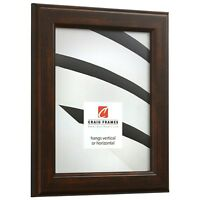 1406491117 Craig Frames .875 Wide 11x17 Inch Modern Orange Picture Frame Confetti