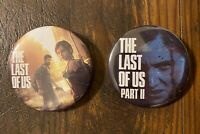 THE LAST OF US PART 1 & 2 (II) Collector's Pins Button Badge PS4 Playstation NEW