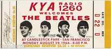 11 1966 THE BEATLES FULL UNUSED CONCERT TICKETS scrapbooking frame reprint set 2