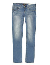 womens GUESS Jeans medium rise skinny, used,  size W28 - Blue