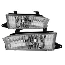 Fit Subaru 97-99 Legacy Outback Chrome Replacement Headlights Pair Set L Lsi GT