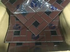 NEW MOSAIC ALUMINUM COMPOSITE WALL TILES- 285MM X 285MM - LOT OF 27