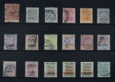 BRITISH GUIANA, a collection of 33 older stamps for sorting, MM, MNG & used.