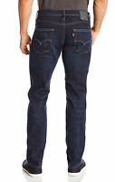 LEVI'S STRAUSS 511 MEN'S SLIM FIT JEANS COLOR FADED BLUE 511-1390